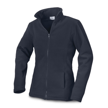 Obrázek Women's jacket. Polar fleece: 280 g/m². Anti-pilling. Sizes: S, M, L modrá
