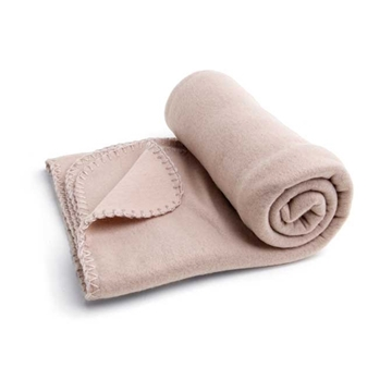 Picture of Blanket. Polar fleece: 180 g/m². 1450 x 950 mm modrá