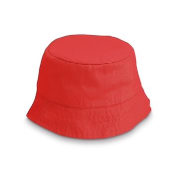 Obrázek Bucket hat for children Red