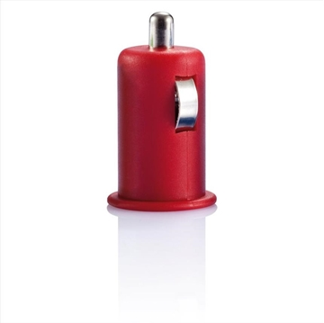 Obrázek Micro car USB charger red