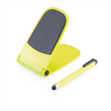 Obrázek Push stand with touch pen lime